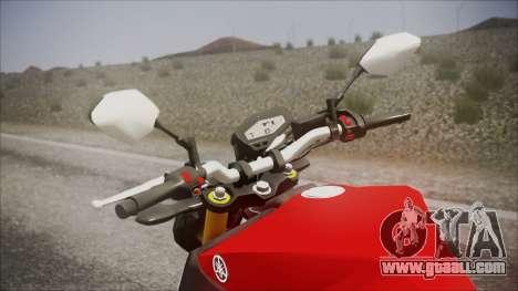 Yamaha MT-09 for GTA San Andreas right view