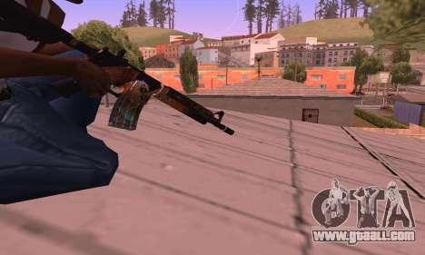 M4 Grifin for GTA San Andreas third screenshot