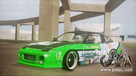 Nissan 240SX Sinon Itasha for GTA San Andreas