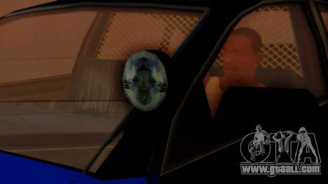 Police HSV VT GTS SA Style for GTA San Andreas right view