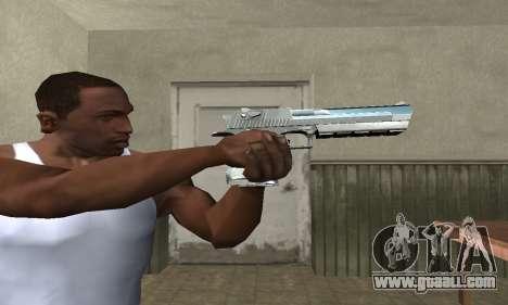 Cool Silver Deagle for GTA San Andreas
