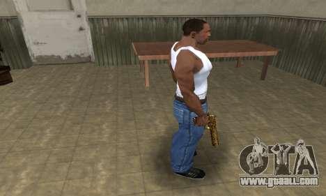 Microshem Deagle for GTA San Andreas third screenshot