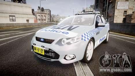 Ford Falcon FG XR6 Turbo Police [ELS] for GTA 4