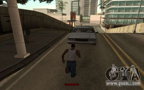 SprintBar for GTA San Andreas forth screenshot