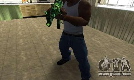 Ganja АК-47 for GTA San Andreas second screenshot