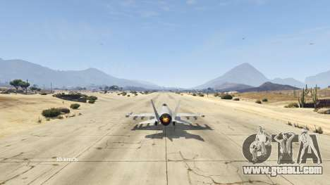 GTA 5 Flight Speedometer V 2.0 fourth screenshot