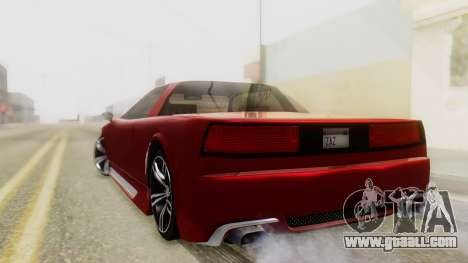 Infernus BMW Revolution with Plate for GTA San Andreas left view