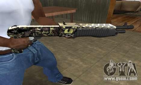 War Combat Shotgun for GTA San Andreas third screenshot
