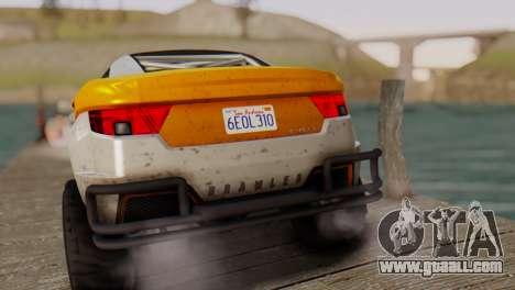 Coil Brawler Gotten Gains for GTA San Andreas