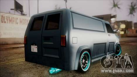 Burrito by NarisDRIFT for GTA San Andreas left view