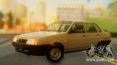 VAZ 21099 Stoke for GTA San Andreas