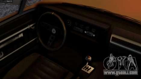 GTA 5 Invetero Coquette BlackFin for GTA San Andreas back left view