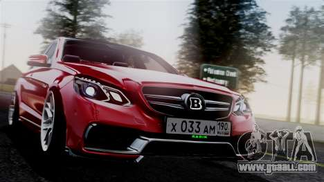 Mercedes-Benz W212 E63 AMG for GTA San Andreas
