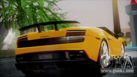 Lamborghini Gallardo LP570-4 Spyder 2012 for GTA San Andreas left view