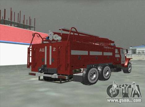 Ural 375 Firefighter for GTA San Andreas left view