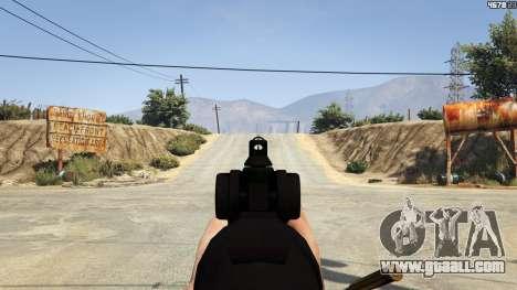 Scar-H for GTA 5