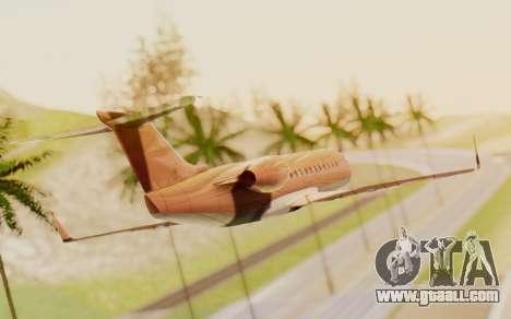 Buckingham Starjet v1.0 for GTA San Andreas left view