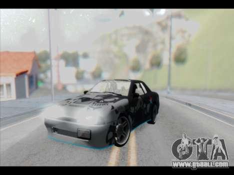 Elegy Lumus for GTA San Andreas interior