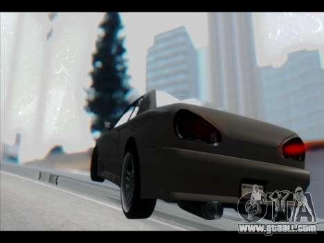 Elegy Lumus for GTA San Andreas wheels