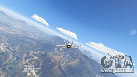 GTA 5 Flight Speedometer V 2.0