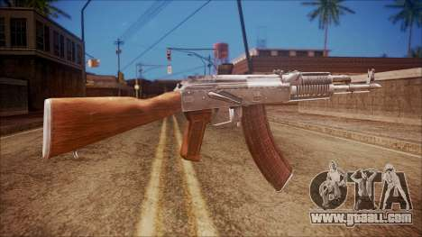 AK-47 v5 from Battlefield Hardline for GTA San Andreas second screenshot