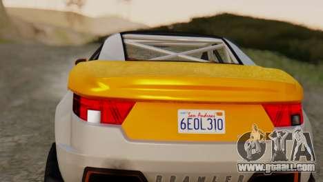 Coil Brawler Gotten Gains for GTA San Andreas right view