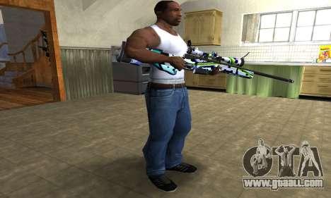 Marcken Sniper Rifle for GTA San Andreas third screenshot