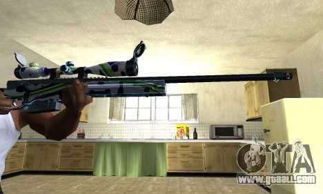 Marcken Sniper Rifle for GTA San Andreas second screenshot