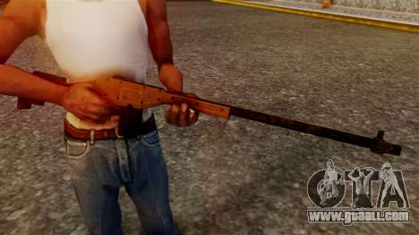 A Police Marksman Rifle for GTA San Andreas third screenshot