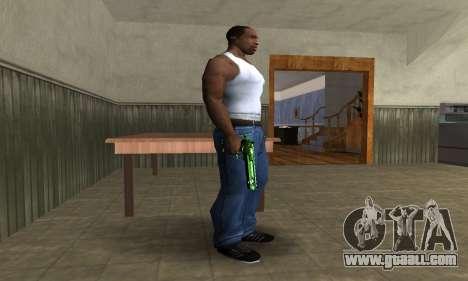 Green Clayn Deagle for GTA San Andreas second screenshot