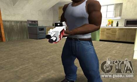 Blood Combat Shotgun for GTA San Andreas second screenshot