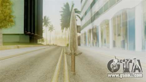 Steel Dagger for GTA San Andreas