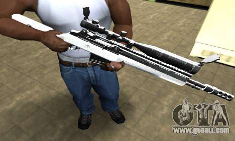Bitten Sniper Rifle for GTA San Andreas
