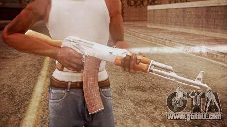 AK-47 v7 from Battlefield Hardline for GTA San Andreas third screenshot