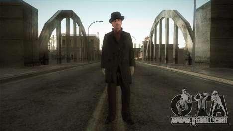 Sherlock Holmes v3 for GTA San Andreas second screenshot