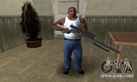 Sniper Rifle for GTA San Andreas third screenshot