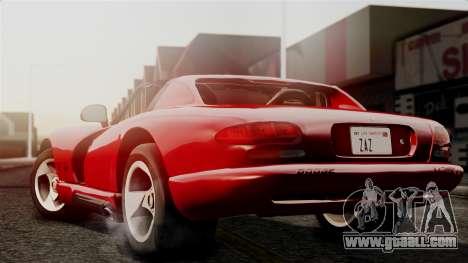 Dodge Viper RT 10 1992 for GTA San Andreas left view
