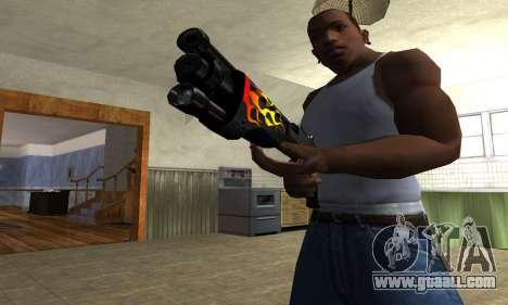 Flame Shotgun for GTA San Andreas second screenshot