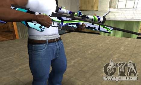 Marcken Sniper Rifle for GTA San Andreas