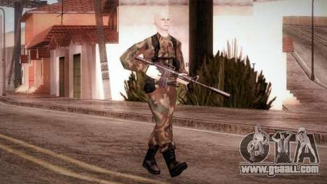 Shaved Soldier for GTA San Andreas