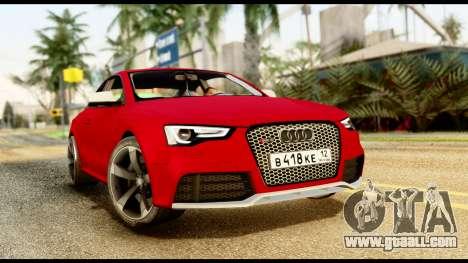 Audi RS5 2012 for GTA San Andreas