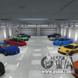 Single Player Garage For Gta 5
