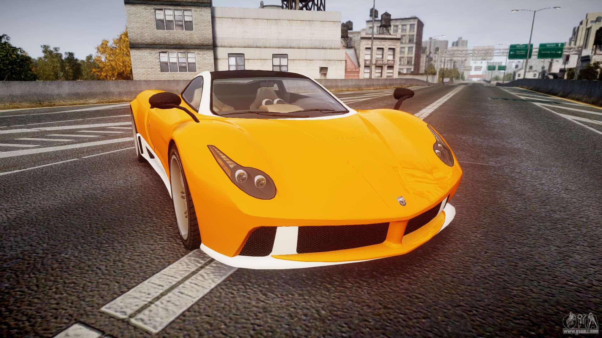 GTA V Pegassi Osiris for GTA 4