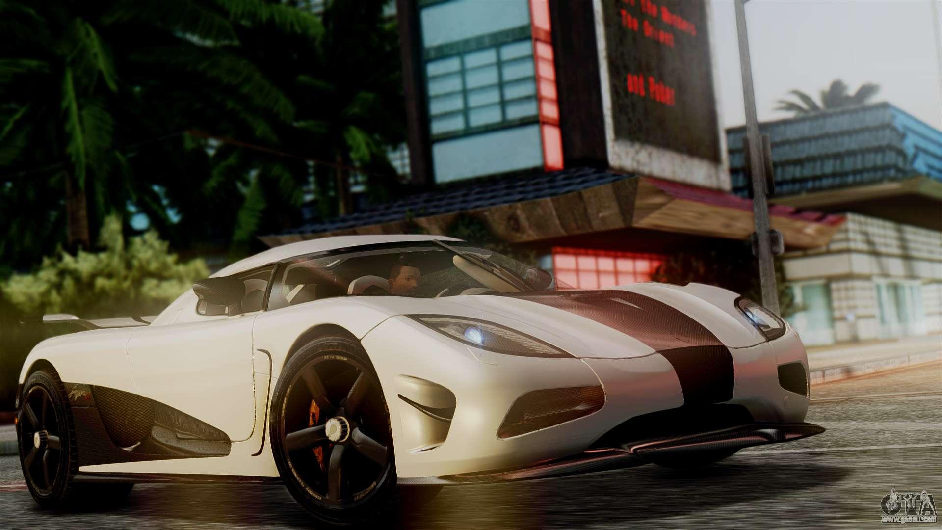 NFS Rivals Koenigsegg Agera R Racer for GTA San Andreas