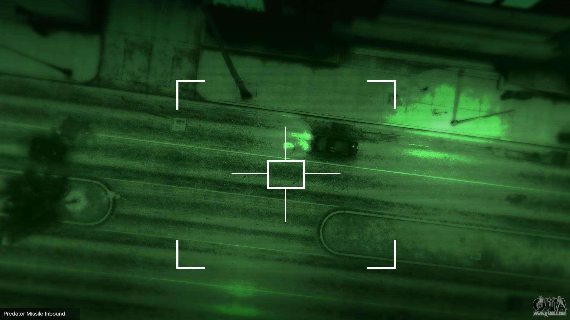 MW2 Predator Missile 1 1 for GTA 5