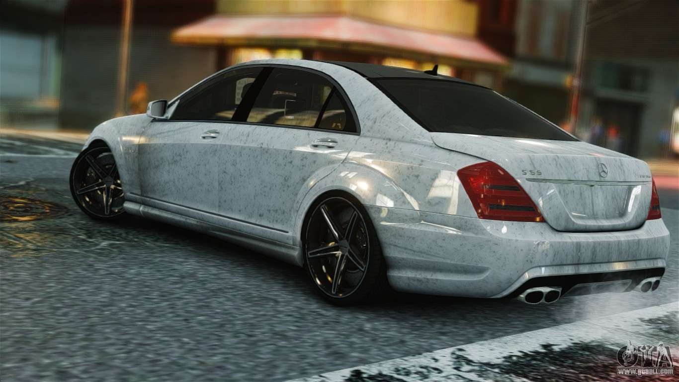 Mercedes benz s65 amg vossen for gta 4 for Amg com mercedes benz