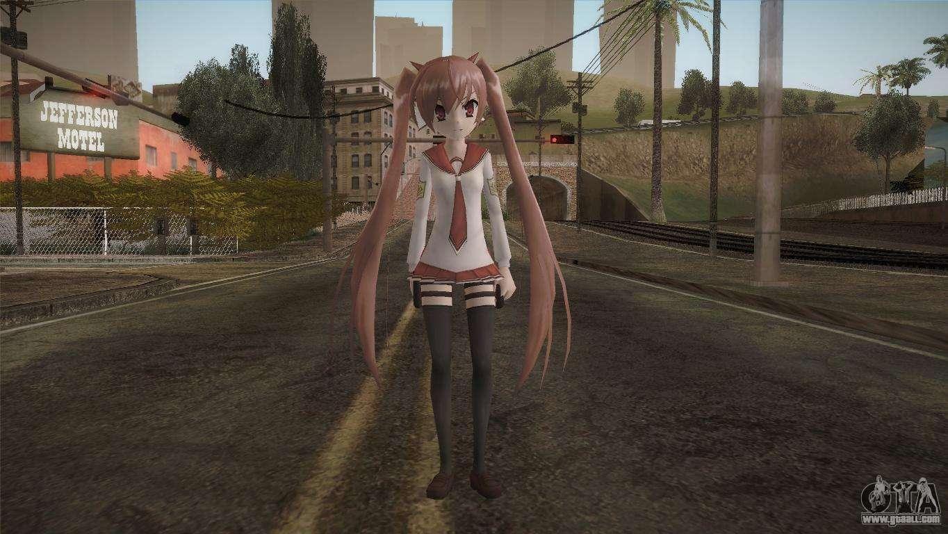 gta sa anime girl skin
