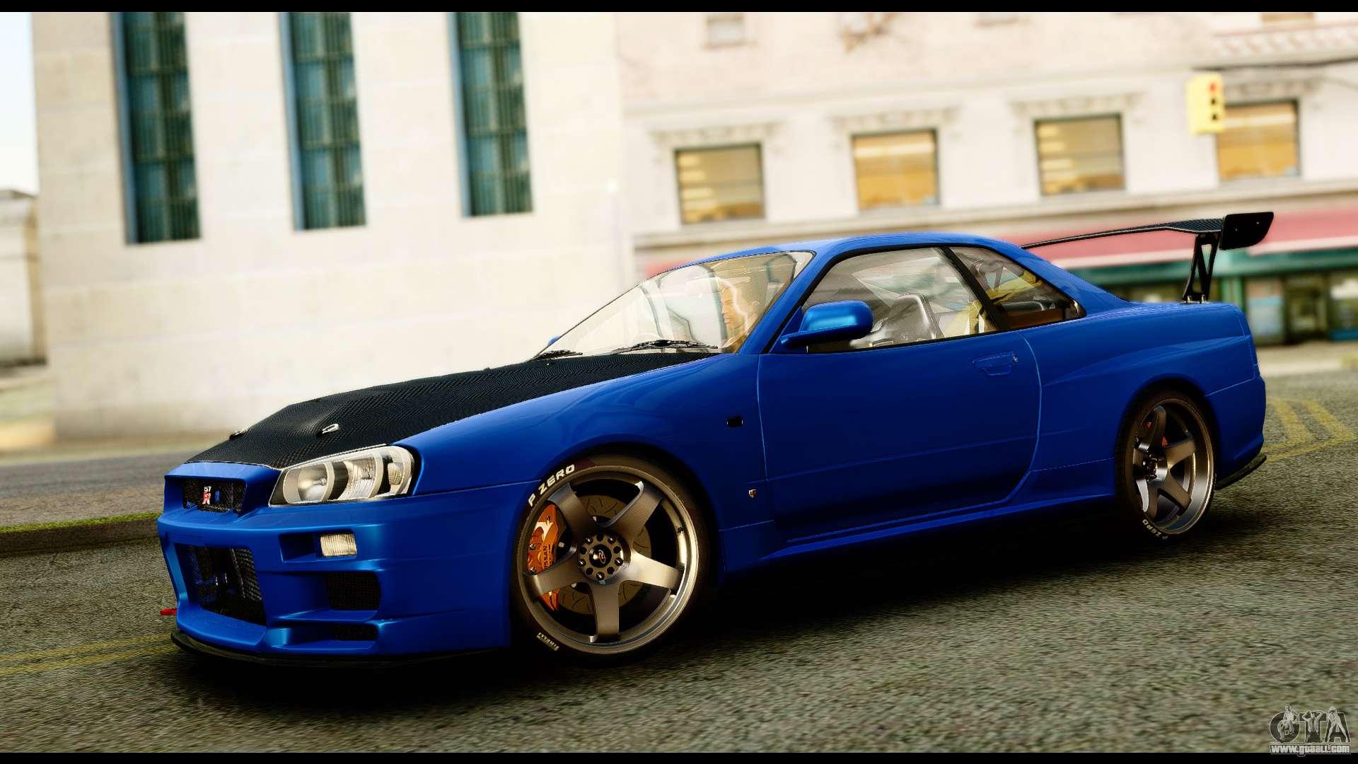 Kumpulan Koleksi Mod Mobil Nissan Skyline Gta San Andreas HD Terbaru