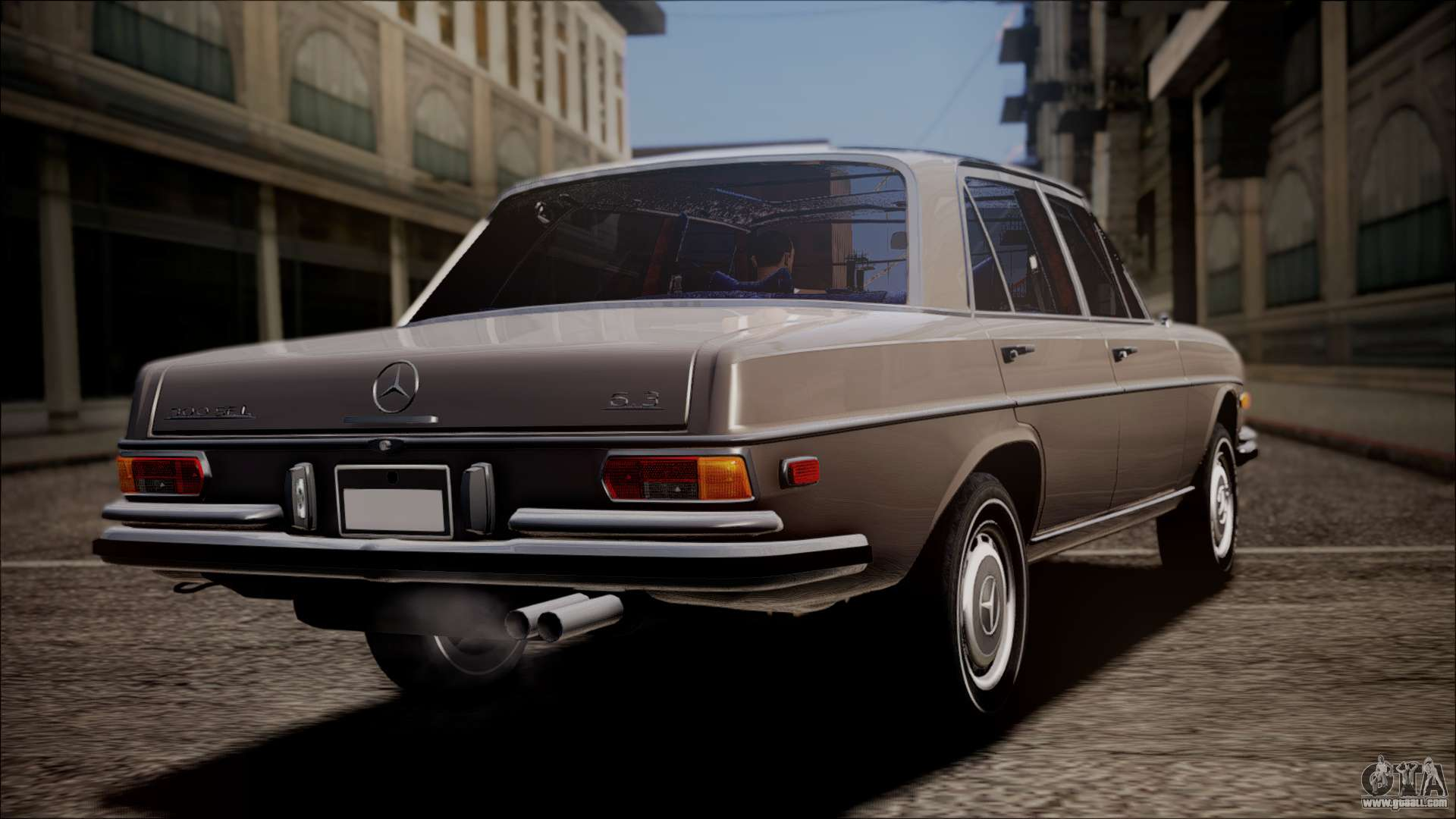 Mercedes benz 300 sel 6 3 for gta san andreas for Mercedes benz gta