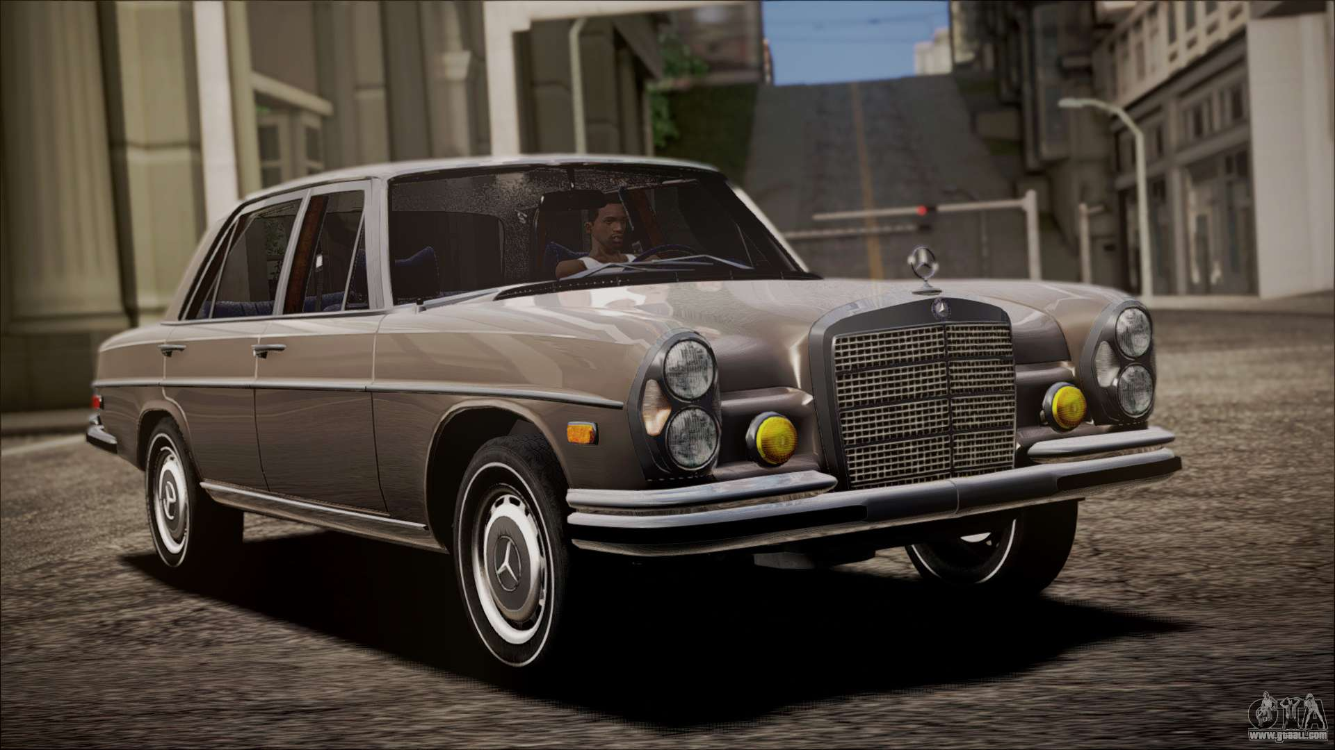 mercedes benz 300 sel 6 3 for gta san andreas. Black Bedroom Furniture Sets. Home Design Ideas